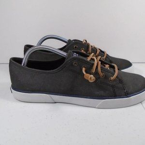 Womens Sz 10 Sperry Top Sider Canvas Shoe